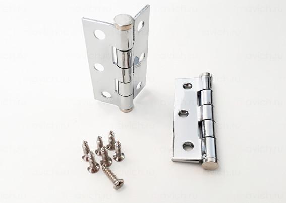 Навес (Петля) для двери сантехнической, фурнитура металл.