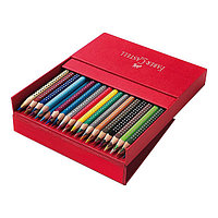 Карандаши цветные, GRIP 2001, 36 цветов, в студийной коробке из кожзама