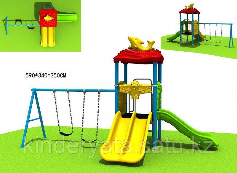 Детский спортивно-игровой комплекс Дельфин