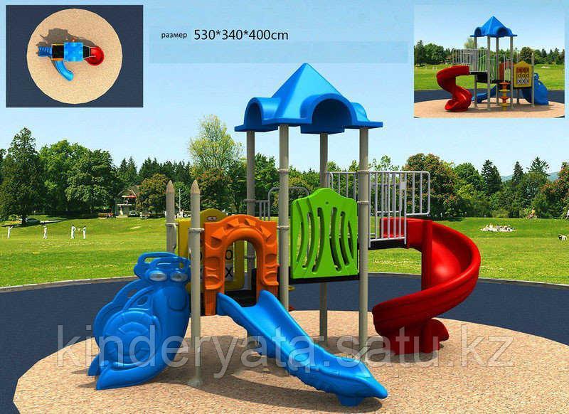 Детский спортивно-игровой комплекс Мультик