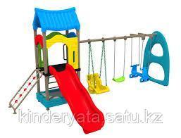 Детский спортивно-игровой комплекс Теремок