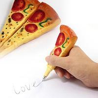 Шариковая ручка-магнит в виде куска пиццы