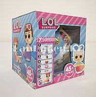 Кукла-сюрприз в шарике LOL Surprise! русалка (голубая)