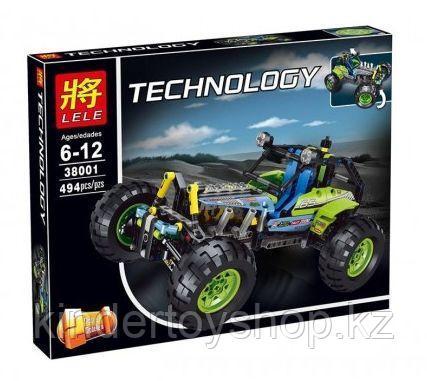 Конструктор Lele 38001 Внедорожник аналог Лего 8043 Lego Technic
