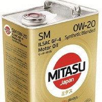 Моторное масло MITASU 0W-20 4литра
