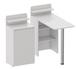 Складной маникюрный столик. Белый.
