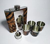 Подарочный набор 6 в 1  леопард, фото 1