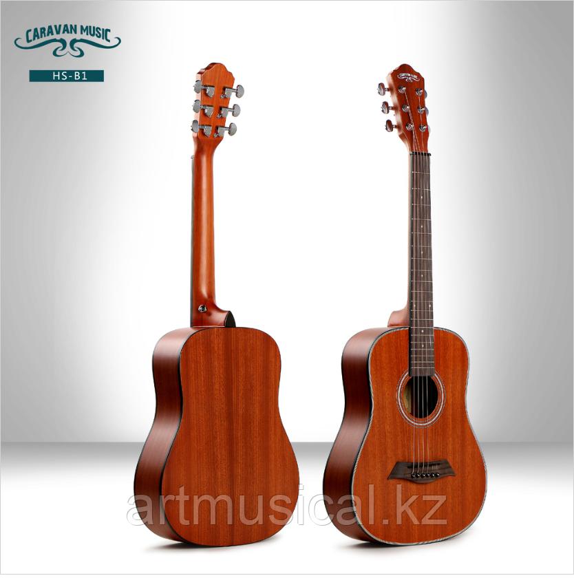 Трэвел гитара Caravan Music HS-B1