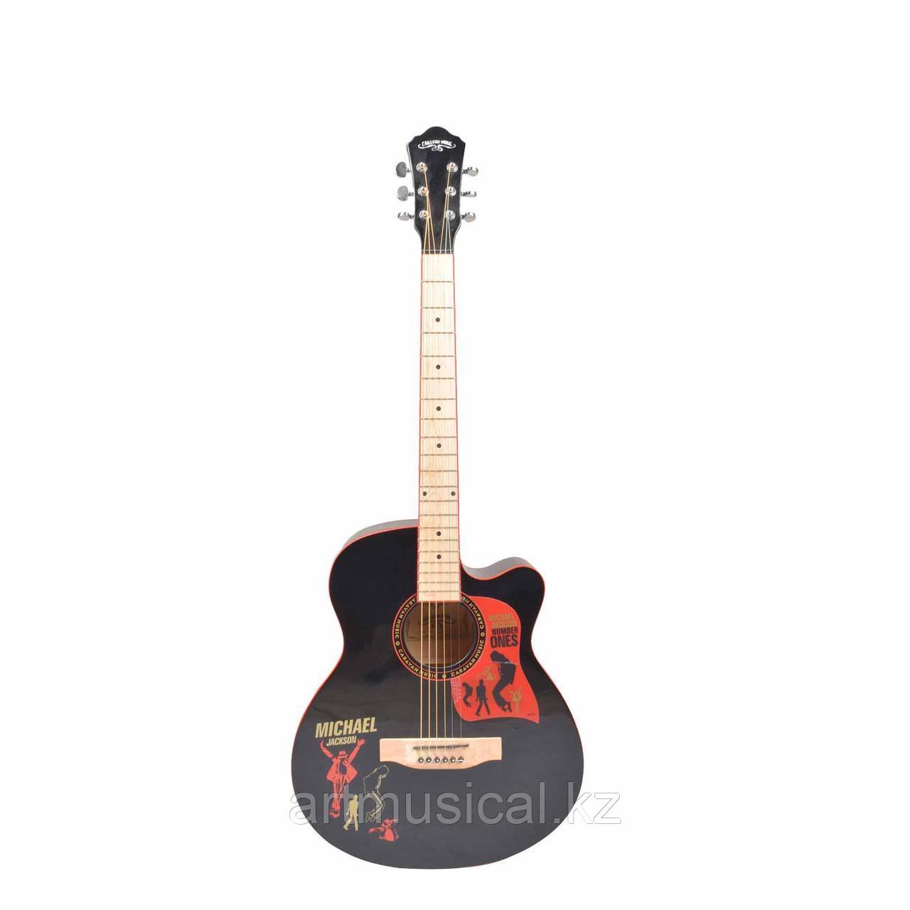 Акустическая гитара Caravan Music HS-4015BK