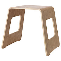 Табурет БЕНГТХОКАН бамбуковый шпон ИКЕА, IKEA