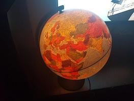 Глобус 32d физико-политический с подсветкой, рельефный. Отзыв покупателя