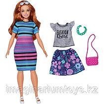 Кукла Барби Модница пышная с комплектом одежды