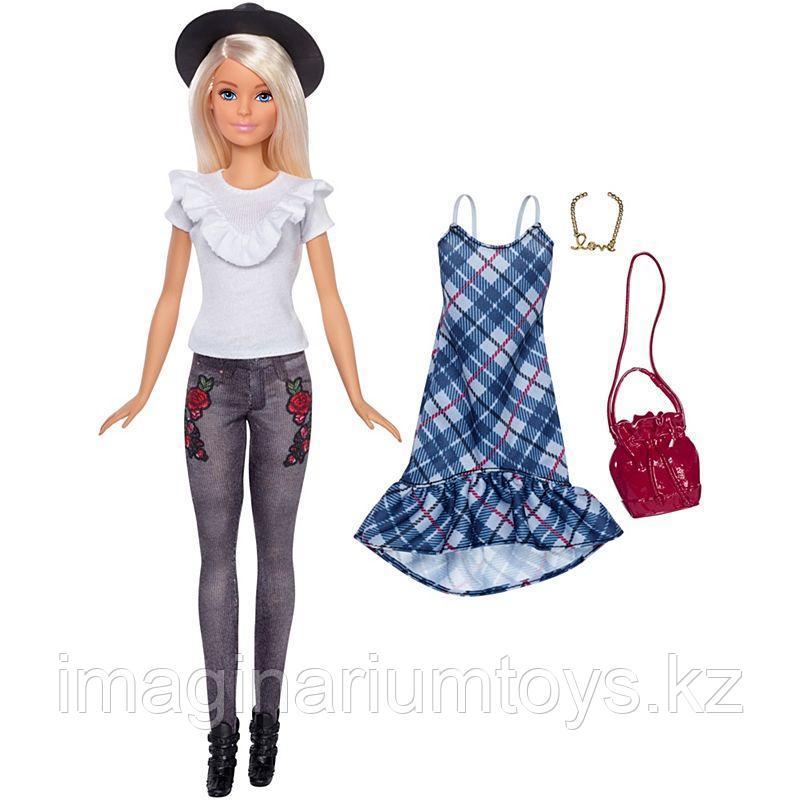 Кукла Барби Модница блондинка с комплектом одежды