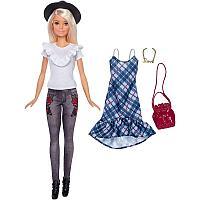 Кукла Барби Модница блондинка с комплектом одежды, фото 1