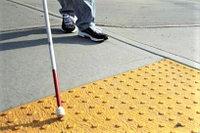 Тактильная бетонная плитка для слабовидящих, фото 1