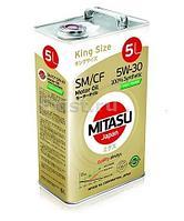 Моторное масло MITASU MOLY-TRiMER SM/CF 5W-30 5литров