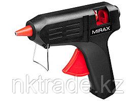 MIRAX. Пистолет клеевой (термоклеящий) электрический, 60Вт/220В, 11мм06805