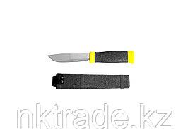 """Нож STAYER """"PROFI"""", туристический, пластиковые ножны, лезвие-110мм 47630"""