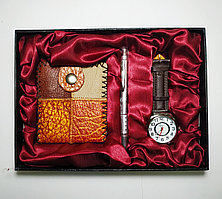 """Подарочный женский набор """"Jesou Collection"""" с кошельком и часами"""