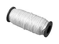 Шнур кручёный капроновый СИБИН, диаметр - 2 мм, длина - 50 м (катушка), 70 кгс 50527