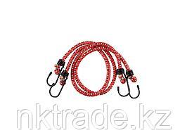 """Шнур STAYER """"MASTER"""" резиновый крепежный со стальными крюками, 60 см, d 7 мм, 2 шт  40505-060_z01"""