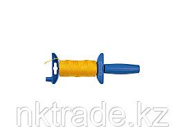 Шнур ЗУБР нейлоновый, для строительных работ, сменная шпуля, на катушке, 50м 06410-50