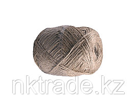 Шпагат ЗУБР джутовый 3-ниточный, d=1,8 мм, 100 м, 18 кгс, 1,6 ктекс 50121-100