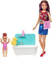 Кукла Барби Няня в игровом наборе, фото 1