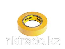 Изолента, STAYER Profi 12292-Y-15-10, ПВХ, на карточке, 15 мм х 10 м х 0,18мм, желтая