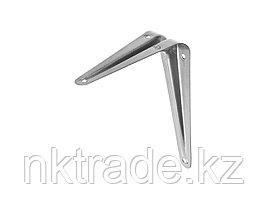 """Уголок-кронштейн STAYER """"MASTER"""", 125х100мм, серый 37401-2"""