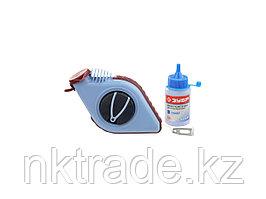 Нить ЗУБР разметочная для строительных работ в наборе с синей краской, 30м 4-06375-H2