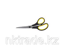 """Ножницы STAYER """"MASTER"""" хозяйственные, изогнутые, двухкомпонентные ручки, 195мм 40466-19"""