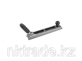 Рашпиль KRAFTOOL обдирочный, силуминовый с переставной ручкой, 250мм 18843