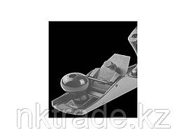 """Рубанок ЗУБР """"ЭКСПЕРТ"""" """"ОДИНАРНЫЙ"""" металлический, с одинарным ножом, 50х250мм  18503-25_z01"""