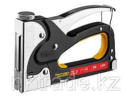 "Степлер для скоб ""BlackPro 53"" 3-в-1: тип 53 (4-14 мм) / 300 (10-14 мм) / 500 (14 мм), STAYER Profes 31507"