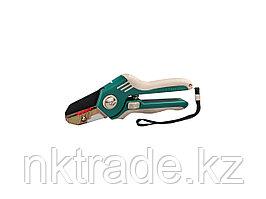 Секатор, RACO 4206-53/176S, усиленный, с двухкомпонентными рукоятками и упорной пластиной, рез до 18мм, 200мм