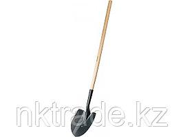 """Лопата """"МАСТЕР"""" штыковая ЛСГ для земляных работ, деревянный черенок, ЗУБР 39575"""