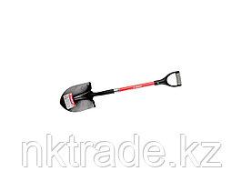 """Лопата """"САДОВОД"""" штыковая для земляных работ, фиберглассовый черенок, с рукояткой, ЗУБР39547_z01"""