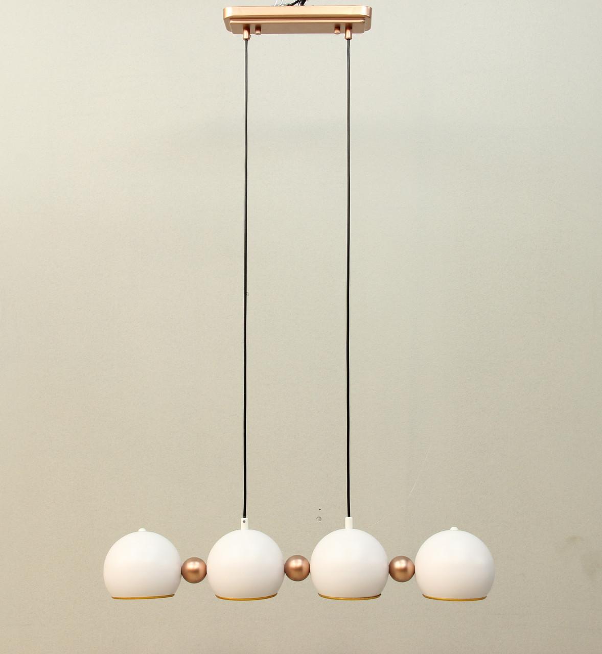 LOFT светильник белый на 4 плафона