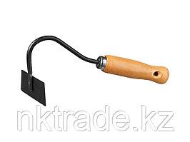 """Мотыжка """"PROLine"""" с деревянной ручкой, GRINDA 421521, 40х110х250мм"""
