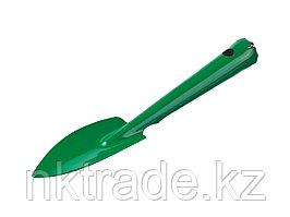 Совок посадочный, РОСТОК 421422, с металлической ручкой, узкий, 114x50x260мм