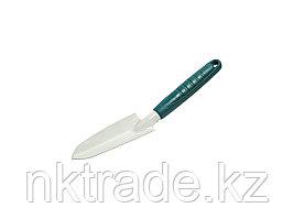 """Совок посадочный RACO """"STANDARD"""" средний с пластмассовой ручкой, 330мм 4207-53482"""