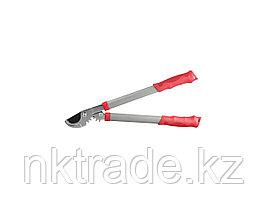Сучкорез GRINDA с тефлоновым покрытием, стальные ручки, рычаг с зубчатой передачей, 465мм8-424103_z01