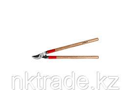 Сучкорез GRINDA с тефлоновым покрытием, деревянные ручки, 700мм40232_z01
