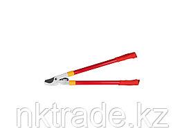 Сучкорез GRINDA с тефлоновым покрытием, стальные ручки, рычаг с зубчатой передачей, 660мм8-424105_z01