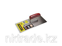Гладилка штукатурная Stayer 130x280 мм; сталь 0801-04