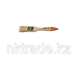Кисть флейцевая DEXX, деревянная ручка, натуральная щетина, индивидуальная упаковка, 38 мм  0100-038_z02