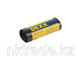 Мешки для мусора DEXX, черные, 30л, 30шт 39150-30