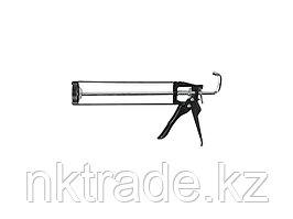 "Пистолет для герметика ЗУБР ""МАСТЕР"" 06630, скелетный, шестигранный шток, 310мл"