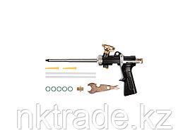 Пистолет для монтажной пены, KRAFTOOL 06853, цельнометаллический